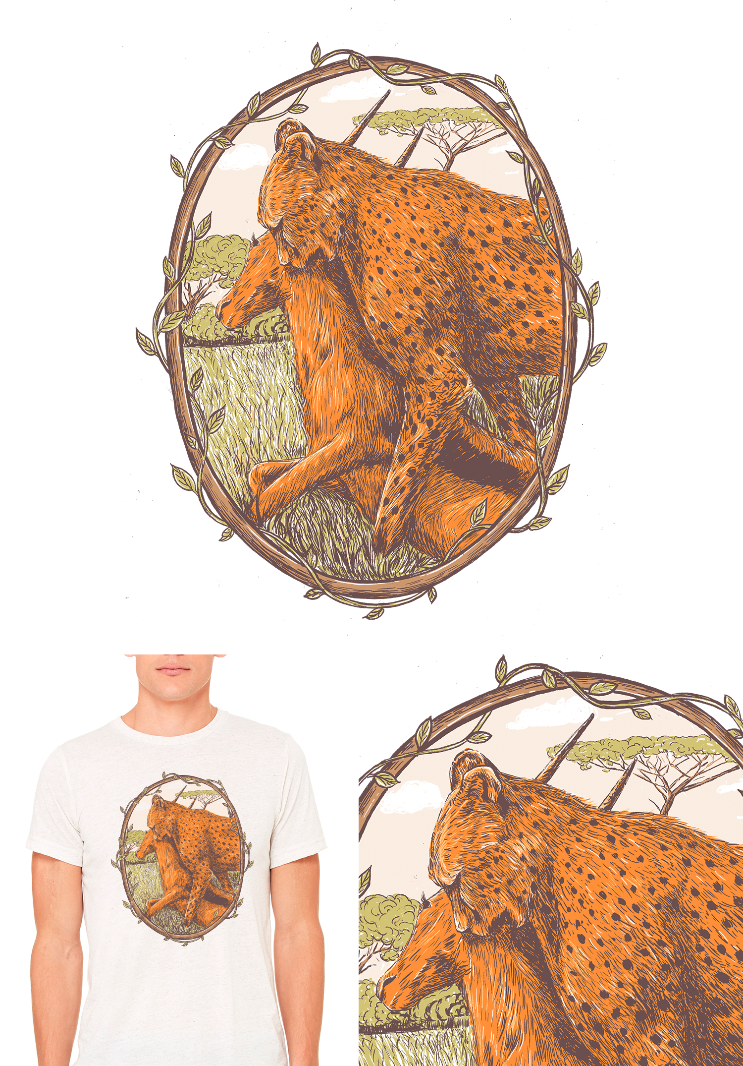 Conscious Hunting x 2 Designs
