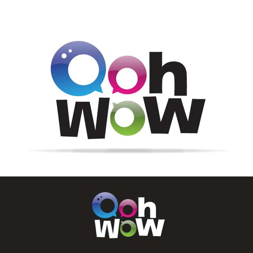 Oohwow - new logo for social networking site