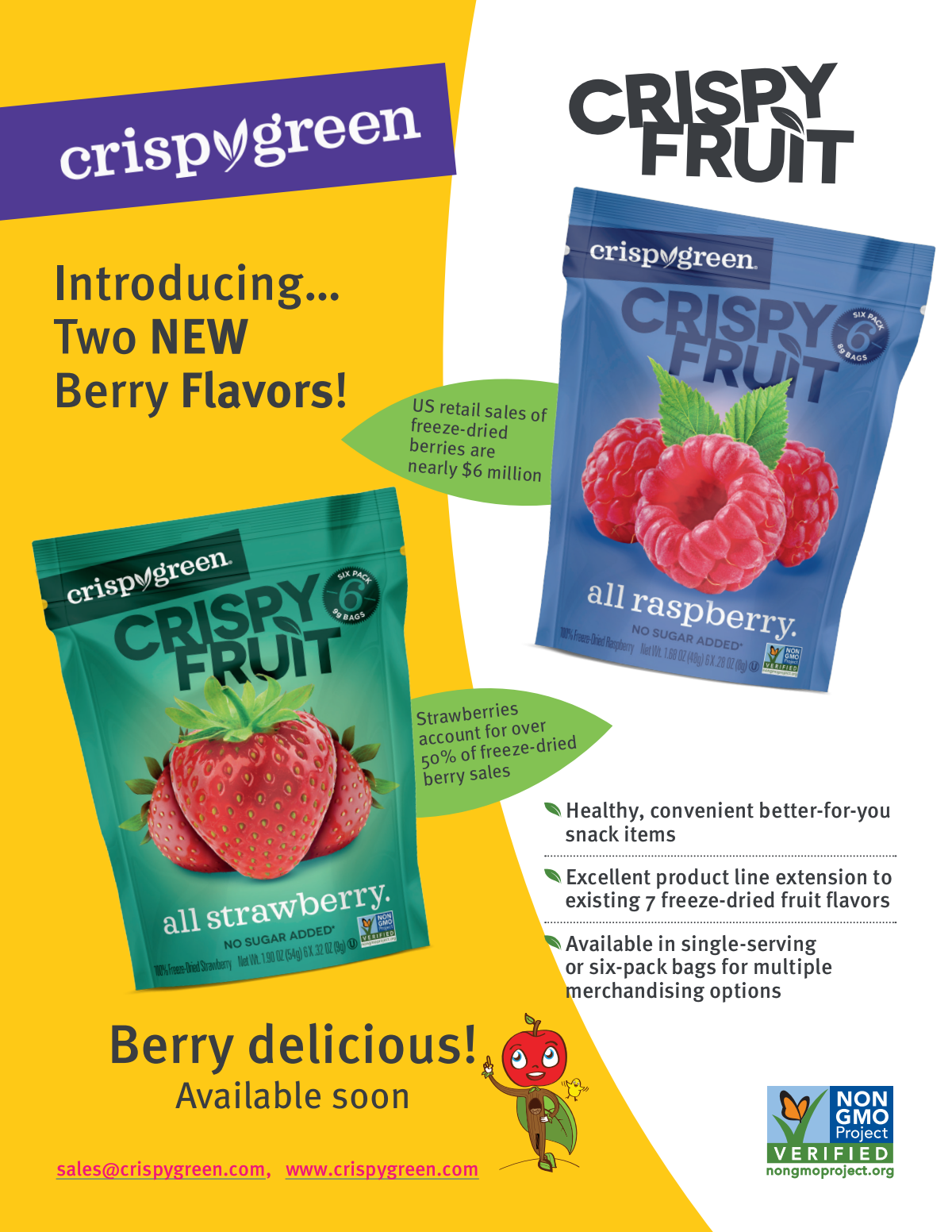 Berry Sell Sheet