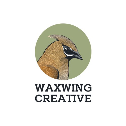 Waxwing Creative Logo