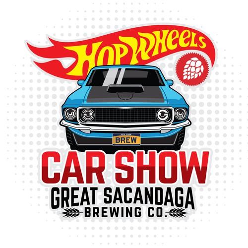 T-shirt design for car show
