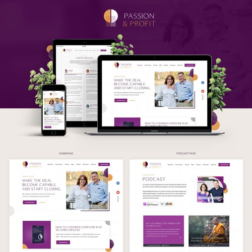 Passion and Profit Web Design
