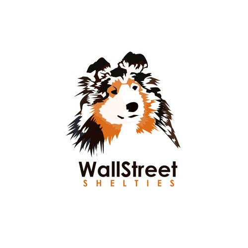 Logo concept for Wall Street Shelties