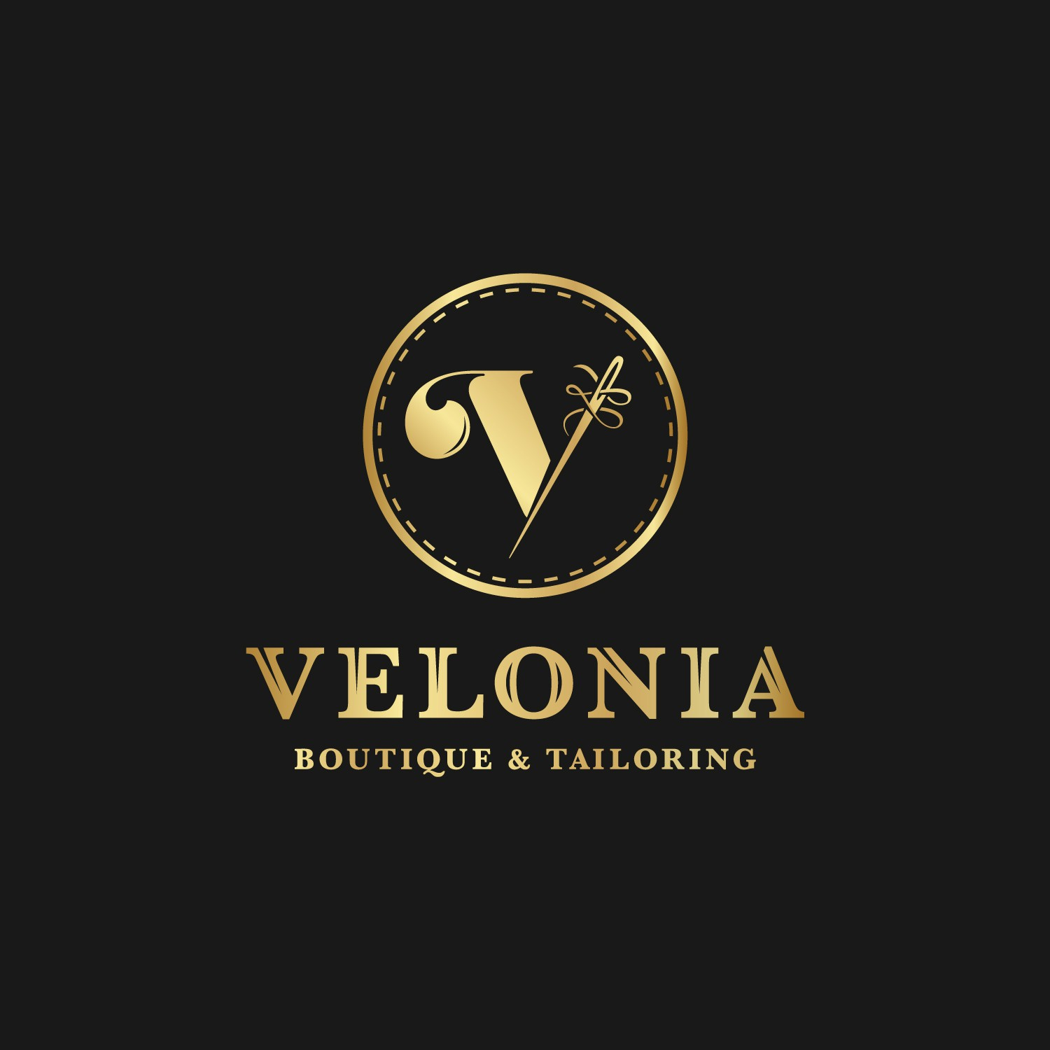 create a logo that will communicate high quality & luxury.