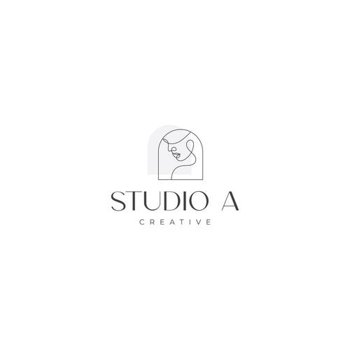 Hair studio logo