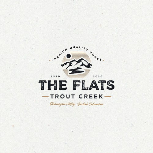 Logo Design Entry for The Flats