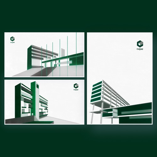 Illustrations for the anniversary of La Cujae, university of science and technology in Havana.