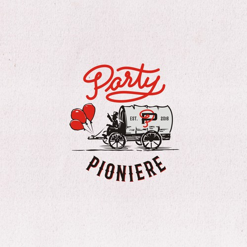 logo for PARTY PIONIERE