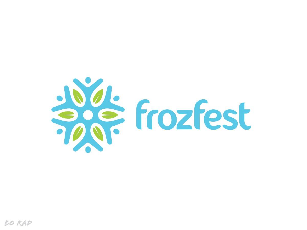 Create a frozen food marketplace logo