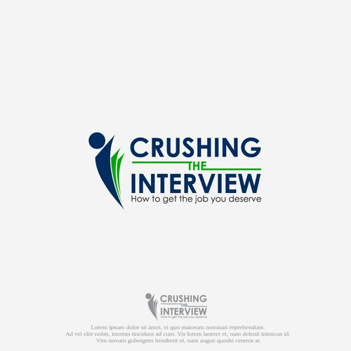 Logo For Crushing The Interview