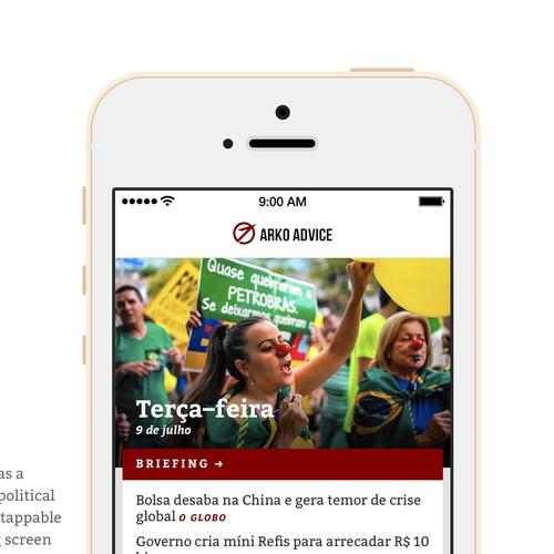 An app for a political app
