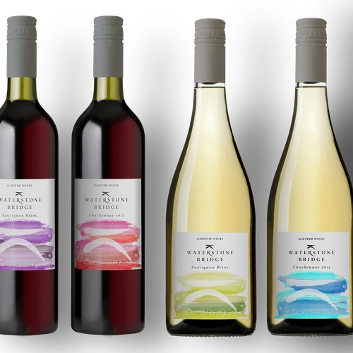 Wine Label Design - re fresh