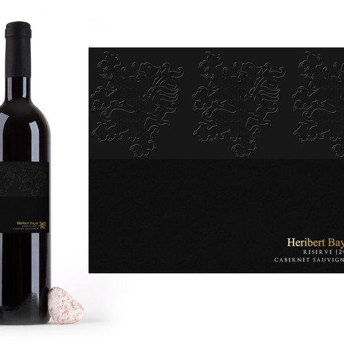 Create a wine label for one of Austria's top wineries