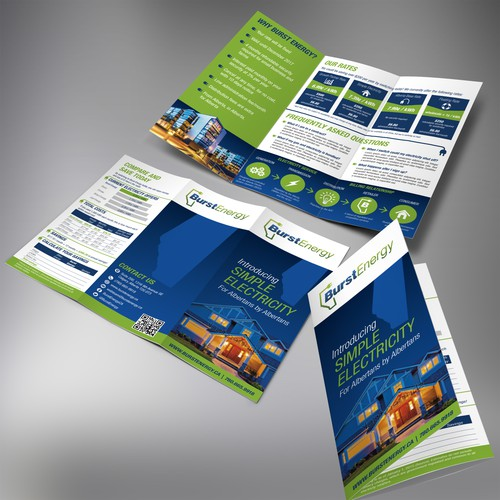 Winning Brochure needed for a business promotion
