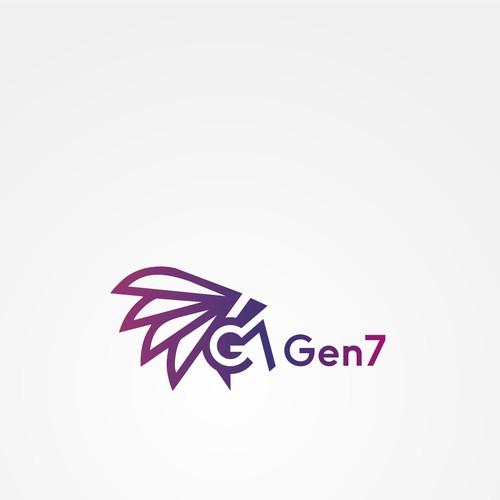 Negative Space Logo For Gen7
