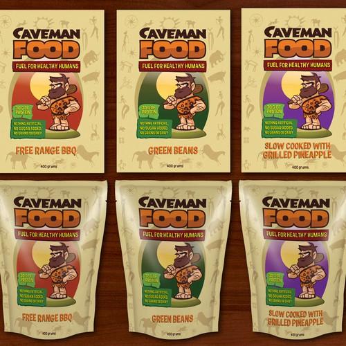 Caveman Food Label