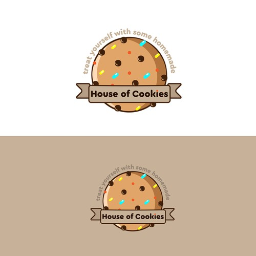 attractive logo for house of cookies
