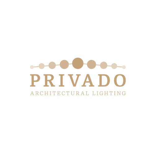 Logo design for architectural lighting brand in Europe