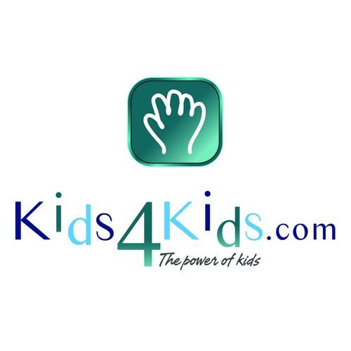 Create the next logo for Kids4Kids.com