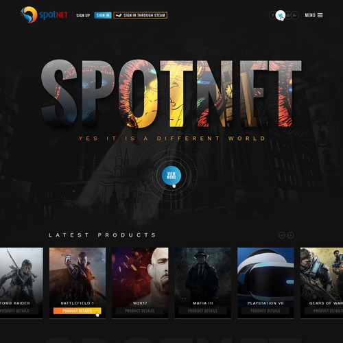 Spotnet website