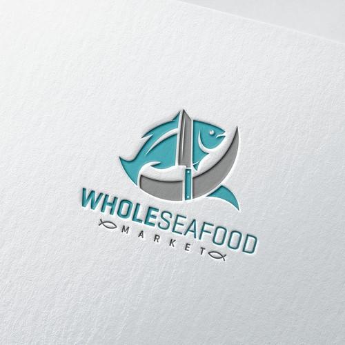Whole Seafood Market Logo