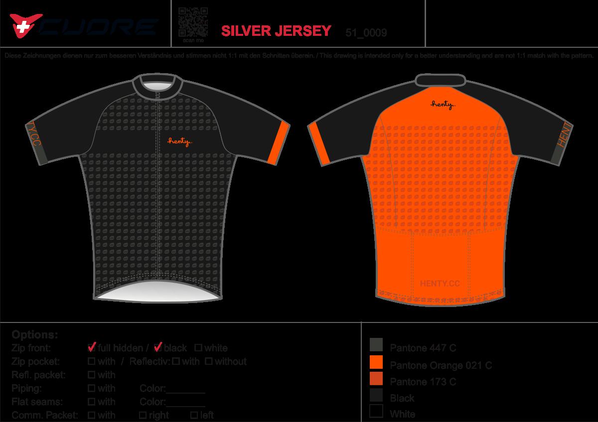 Henty Cycling jersey 2.0