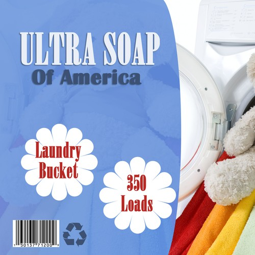 Laundry Soap Label