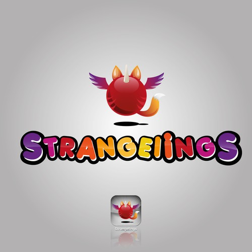 Logo for Mobile Game - Strangelings