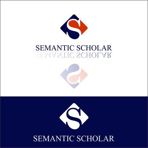 Create an intelligent logo for Semantic Scholar