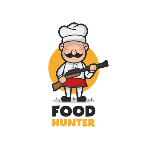 Food hunter logo