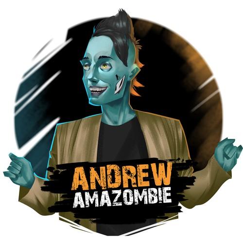 Mascot for Andrew Amazombie