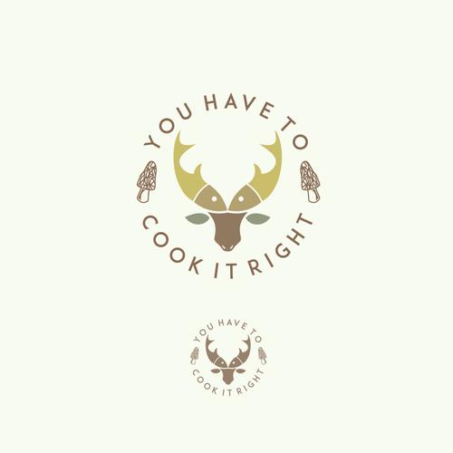logo for cooking & hunt blog
