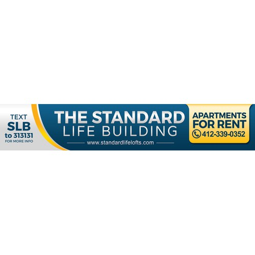Banner Design for Standard Life Building Pittsburgh
