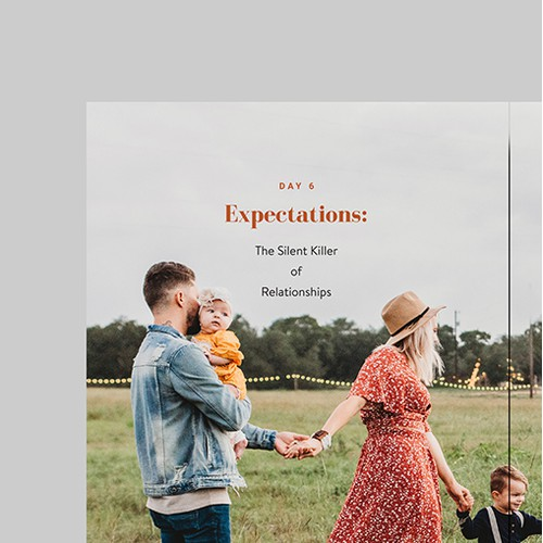 Engaging E-book design for Relationship Course