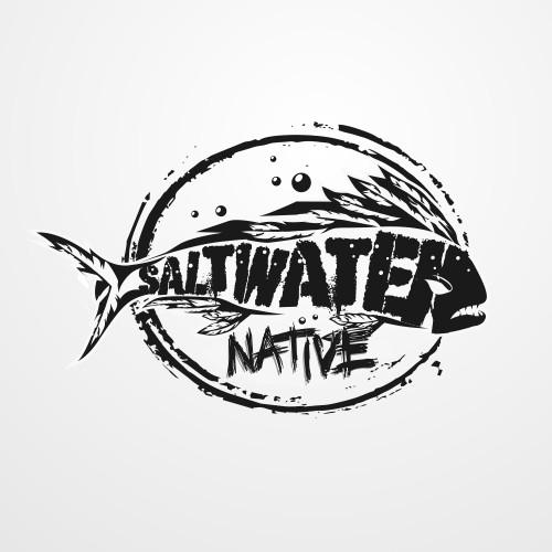 Bold logo for saltwater theme