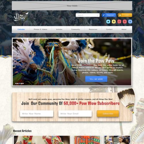 Native American Website