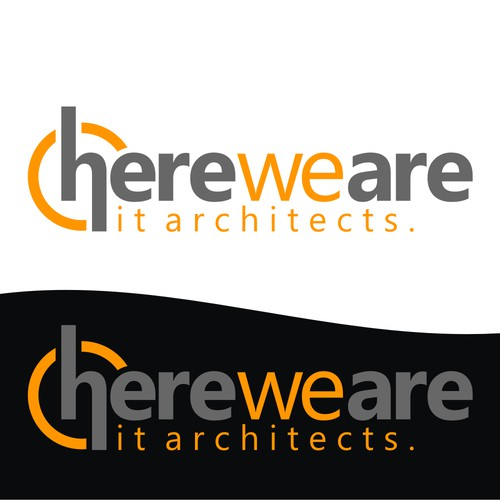 logo für here we are
