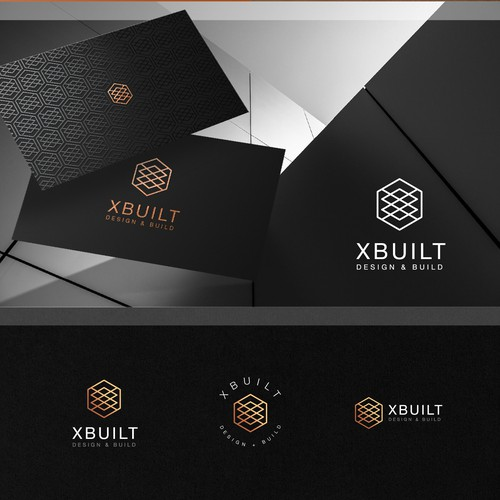 XBUILT logo design