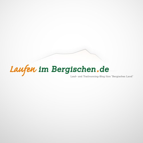 New Logo Design «Laufen im Bergischen.de» Running Blog