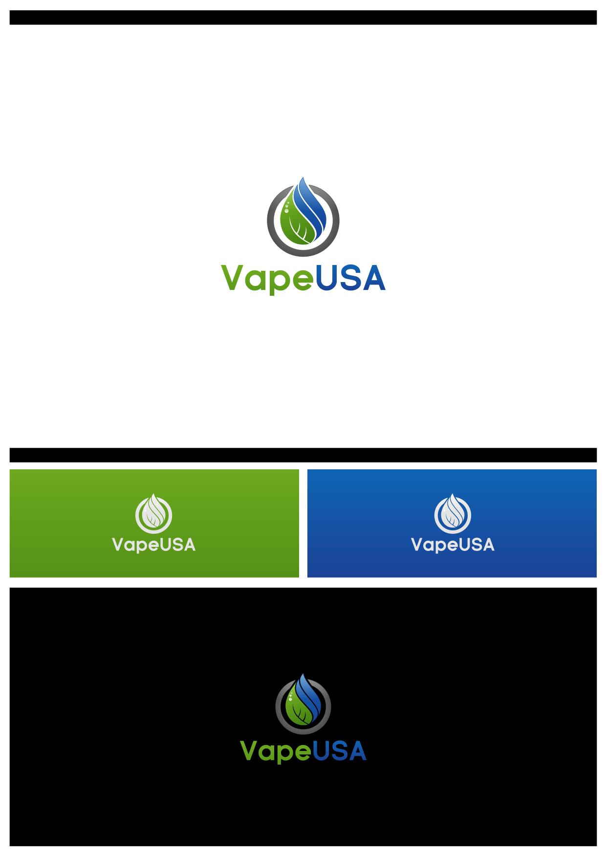 Design a modern and catchy design for VapeUSA.com