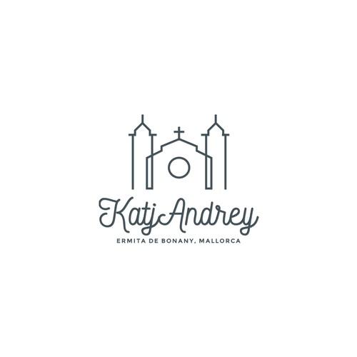 Wedding logo for KatjAndrej