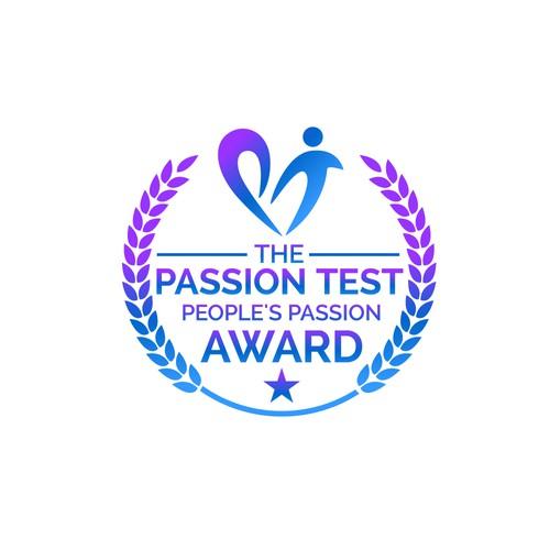 Design PT People's Passion Award logo