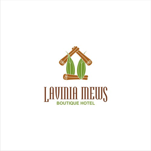 logo concept for Lavinia Mews Hotel