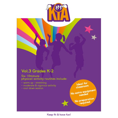 cd case for Kids Into Action
