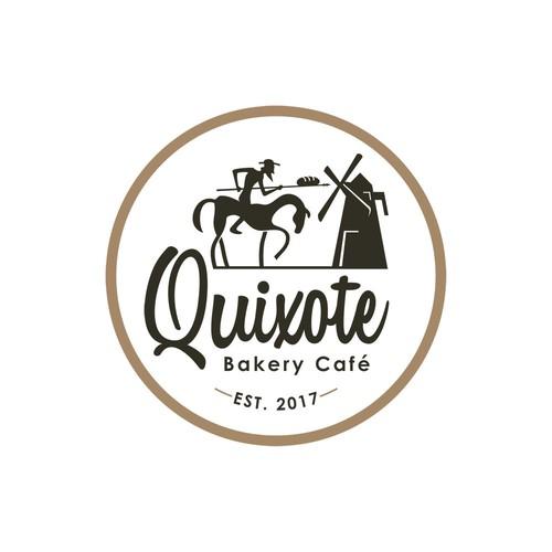 Illustration Logo for bakery café shop