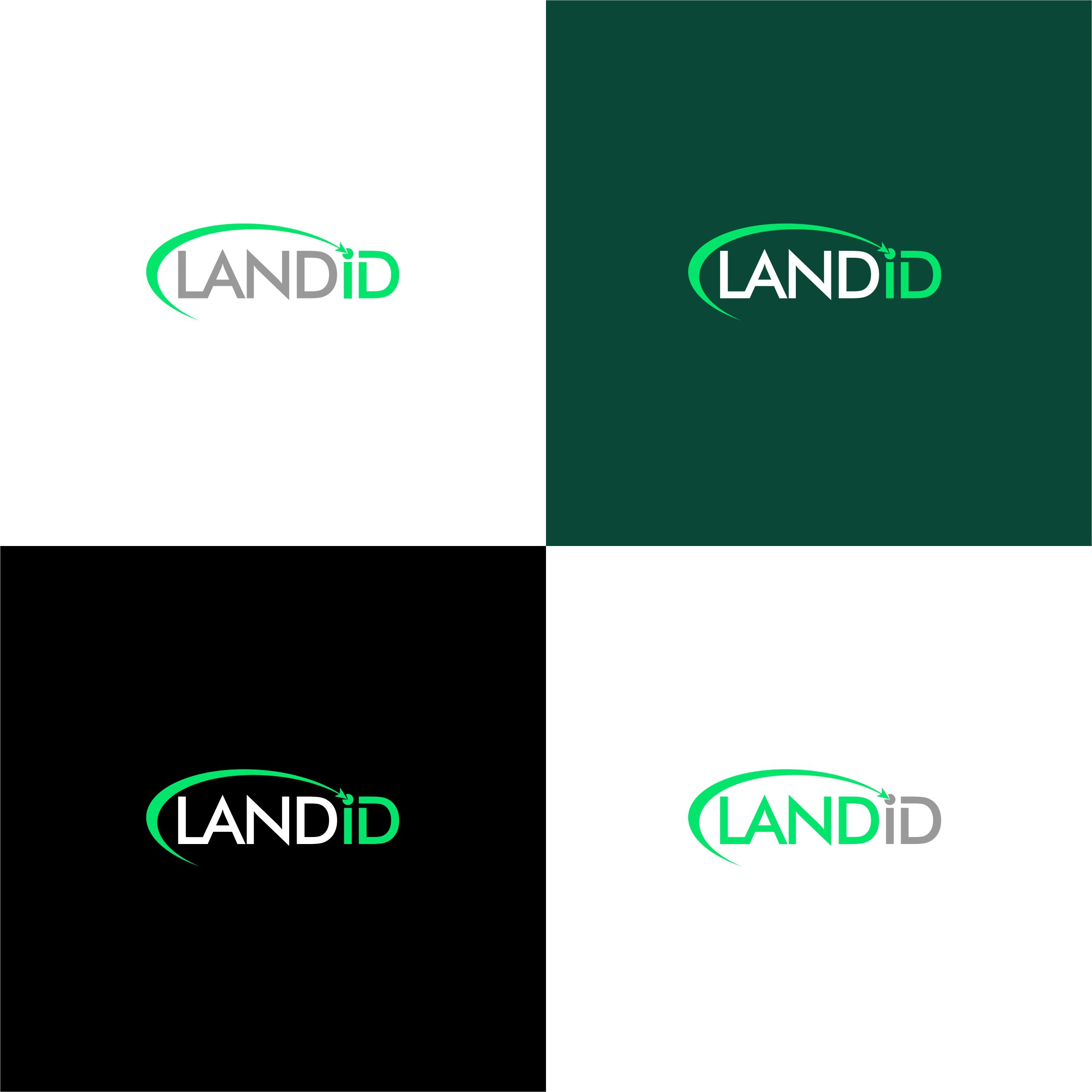 Looking for a clean and fresh logo for a job placement company called LANDID