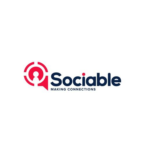 Memorable Minimal Logo - Sociable Agency