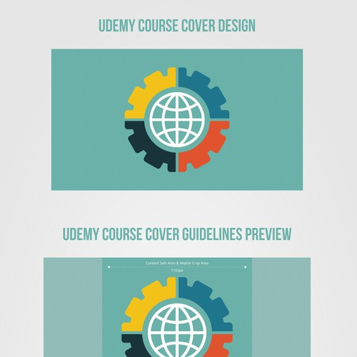 Udemy Cover Design for Web Programming Course
