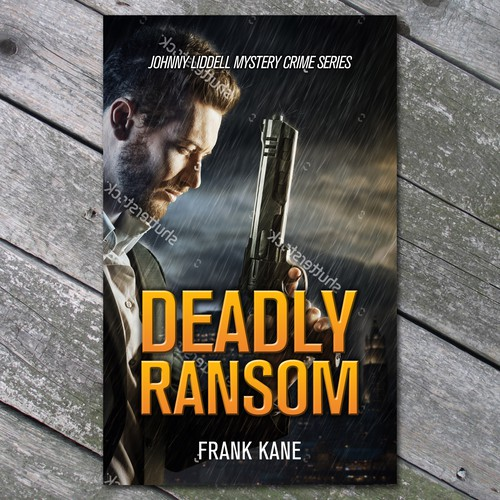 Deadly Ransom Book Cover Concept