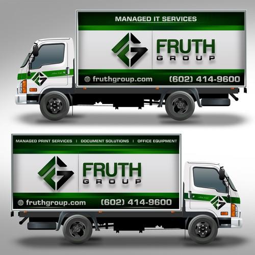 Box Truck Wrap Design